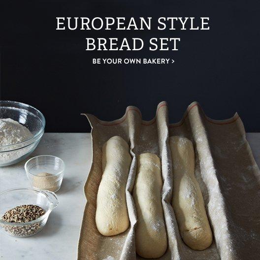 European Style Bread Set