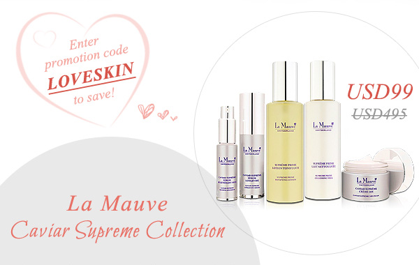 Caviar Supreme Collection at 80% Off