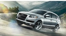 The Audi Q7-Audi on a grand scale