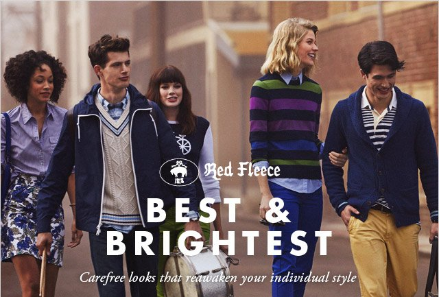 RED FLEECE - BEST & BRIGHTEST