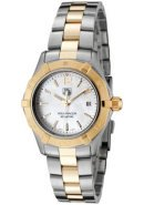 Women's Aquaracer White Mother Of Pearl Dial Two Tone