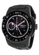 Men's Pilot Limited Edition Automatic Chronograph GMT Black Rubber & Black IP Titanium Case