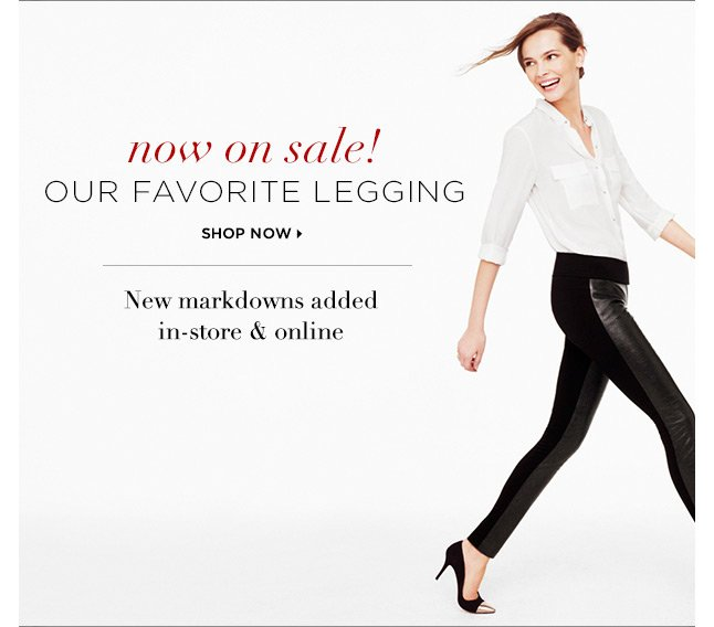 Now on sale! Our favorite legging.