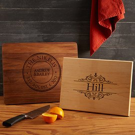 Personalized Cutting Boards Collection