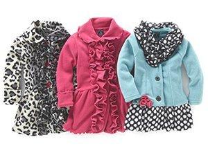 Ruffles Everywhere: Girls' Coats