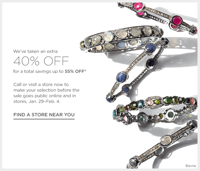 Up to 55% off Fine Jewelry