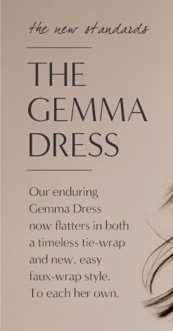 the new standards | THE GEMMA DRESS