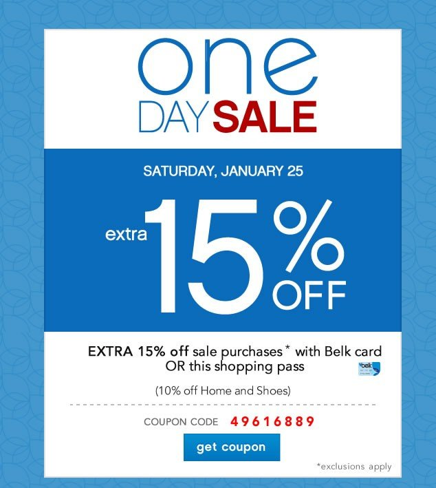 Last Day! One Day Sale. Extra 15% off. Get coupon.
