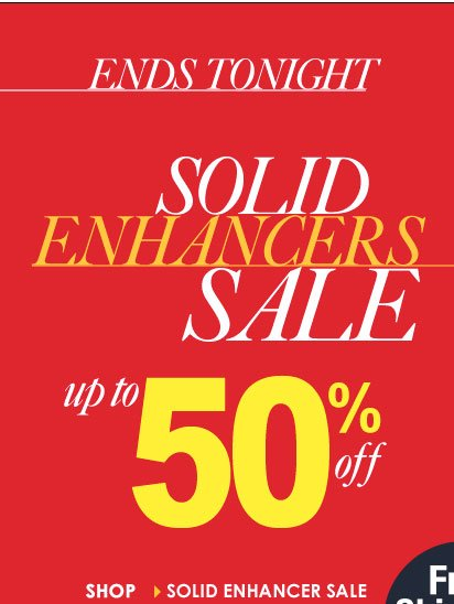 ENDS TONIGHT! Get Beach-Ready, SHOP Solid Enhancer Tops ON SALE!