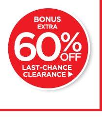 Bonus 60% off