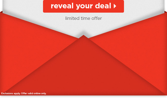 Reveal your deal - limited time offer