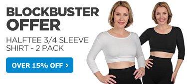 Halftee 3/4 Sleeve Shirt
