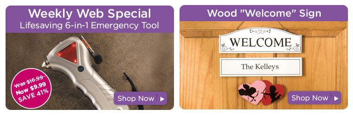Weekly Web Special & Wood
