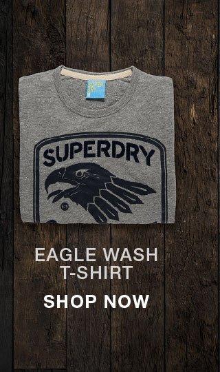 eagle wash t shirt