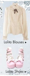 Lolita shirts & shoes
