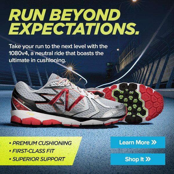 Run Beyond Expectations - Learn more about the 1080v4