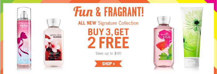Signature Body Care – Buy 3, Get 2 Free