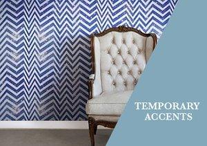 Wall Décor: Temporary Accents