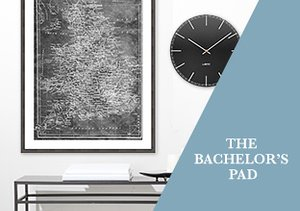Wall Décor: The Bachelor¿s Pad