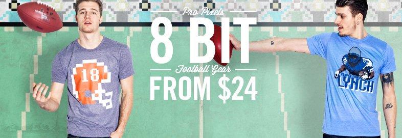 Shop Pro Pixels: 8 Bit Football Gear