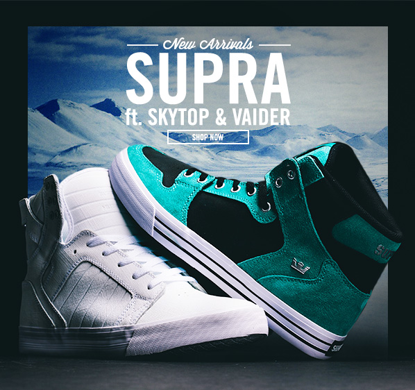 Shop Supra: New Arrivals