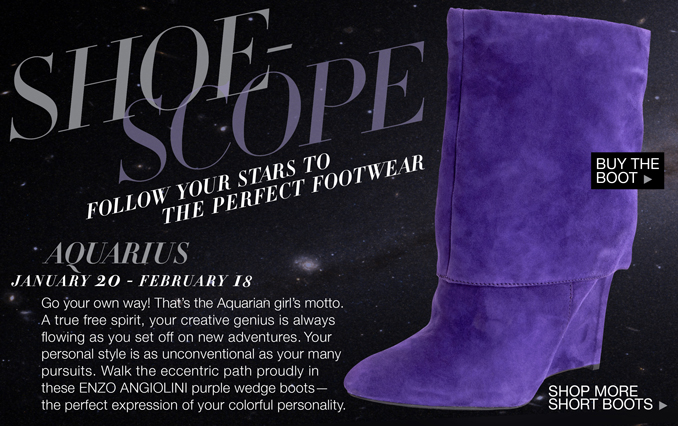 Shop Shoe Horoscope For Her