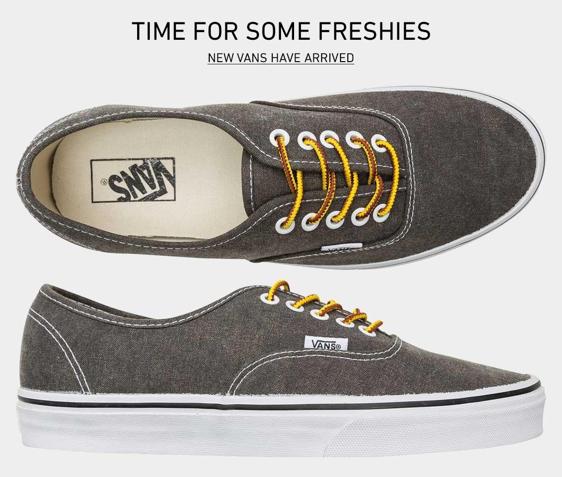 Shop New Vans