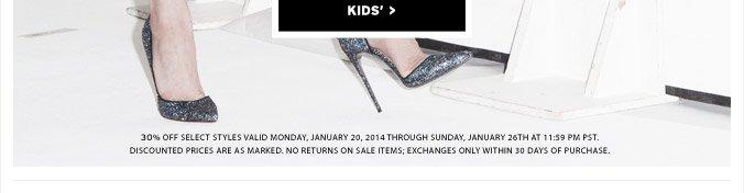 The End Of Season Sale - Shop Kids'
