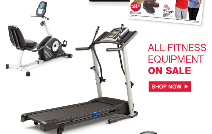 All fitness equipment on sale | Shop Now