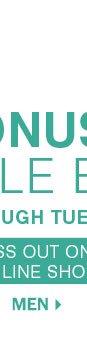 Bonus Buy Sale Event - Men.