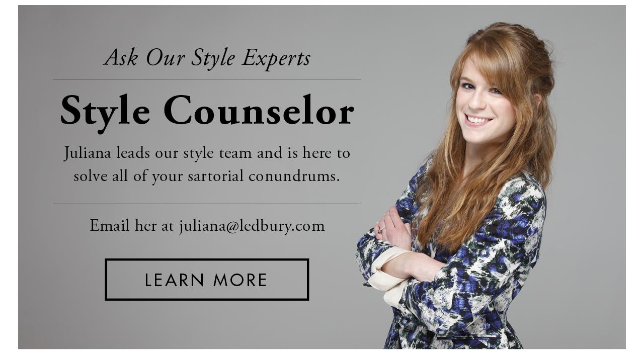 Ask Juliana - Style Expert