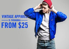 Shop Authentic Vintage Apparel from $25