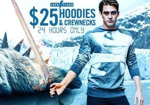 Shop Jack Flash: $25 Hoodies & Crews