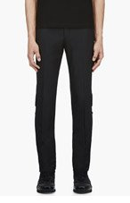 MCQ ALEXANDER MCQUEEN Black Pleated Classic Trousers for men