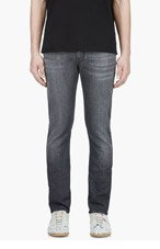 VERSACE GREY Classic JEANS for men