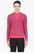PAUL SMITH Fuchsia Crewneack Sweater for men