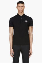 GIVENCHY Black Rottweiler Polo for men