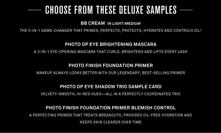 Pick 3 Deluxe Samples
