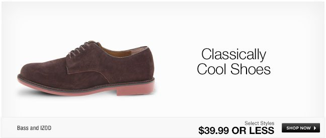 Classically Cool Shoes