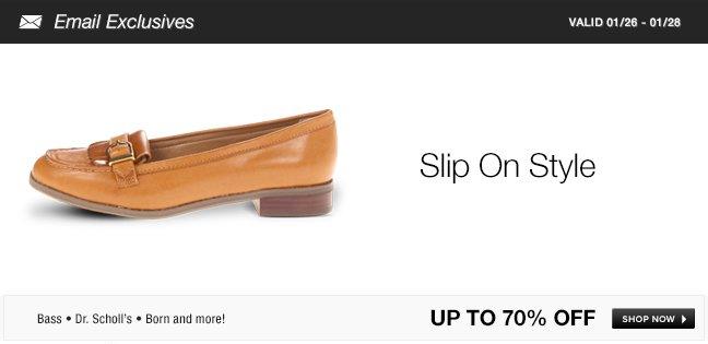 Slip On Style