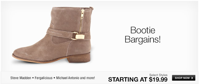 Bootie Bargains!