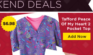 Tafford Peace Of My Heart 2 Pocket Top - Add Now