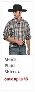 Mens Plaid Shirts