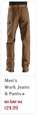 Mens Work Jeans and Pants