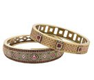 DAILY DOUBLE BANGLE SET