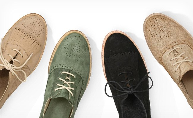OXFORDS FOR ALL. SHOP THE LOOK.