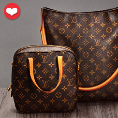 Falling in Love with Initials ft. Louis Vuitton Monogram Collection