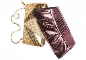 The Purse Shop: Metallics