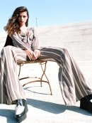 Stone Cold Fox Stardust Jumpsuit in Black and White