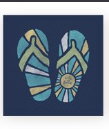 Women's Flip Flop Graphic Tee